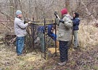 Scientists study deer behavior in central Illinois