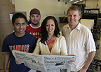 Student newspaper awash with military veterans