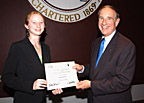 SIUC aviation scholarship recipient