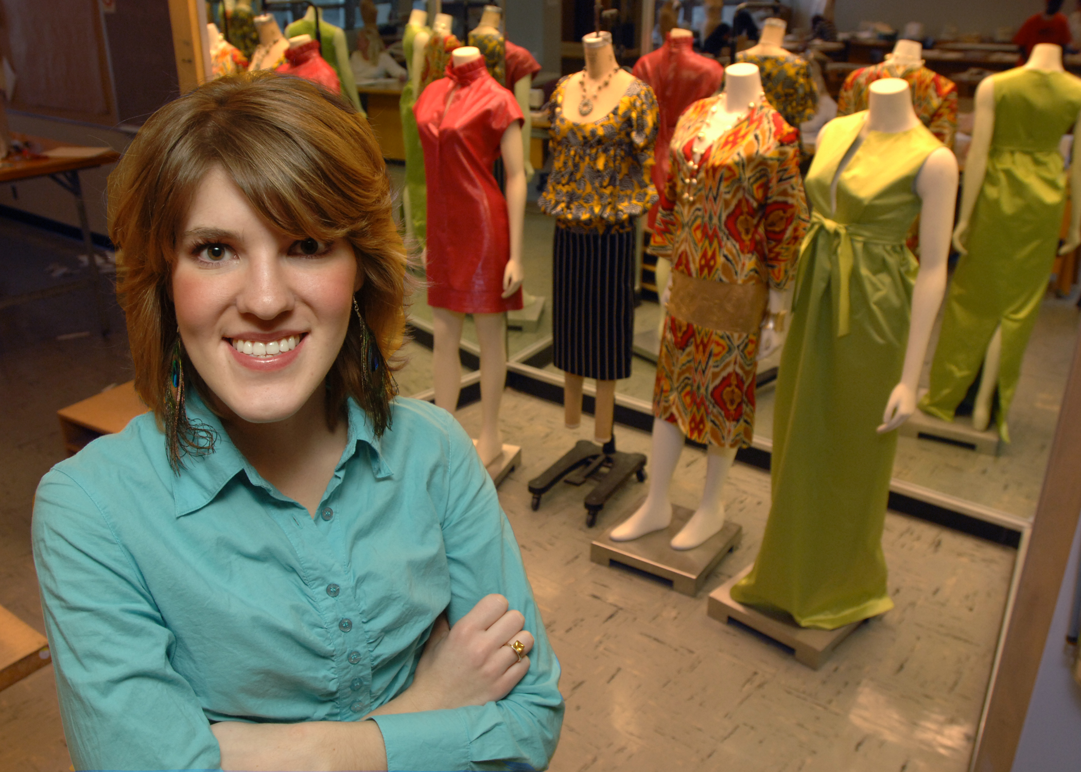 Fashion Design Student Wins New York Internship
