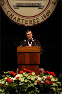 Greg Lee Commencement