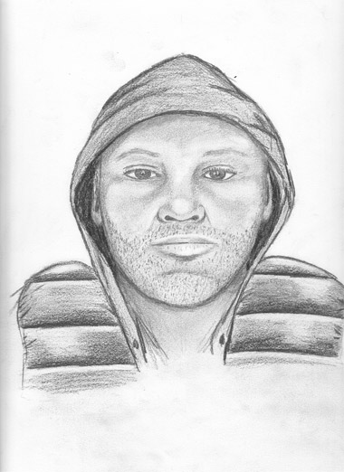 Police release sketch of armed robbery suspect