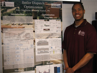 Student's research could enhance energy efficiency