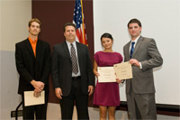 Winners of Boeing Aviation Management & Flight Scholarships