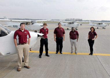 News planes for aviation students