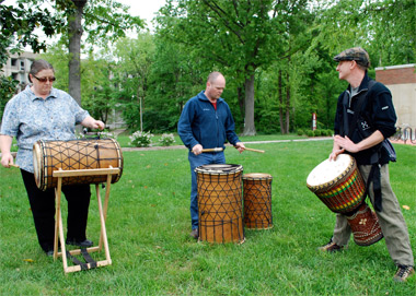 Southern Illinois West African Drumming Ensemble