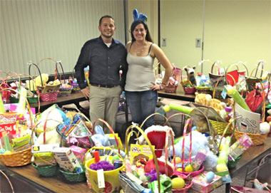 Easter basket donations