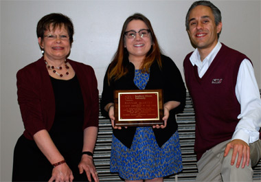 Hannah McArthy, 2013 SIU Carbondale Student Employee of the Year