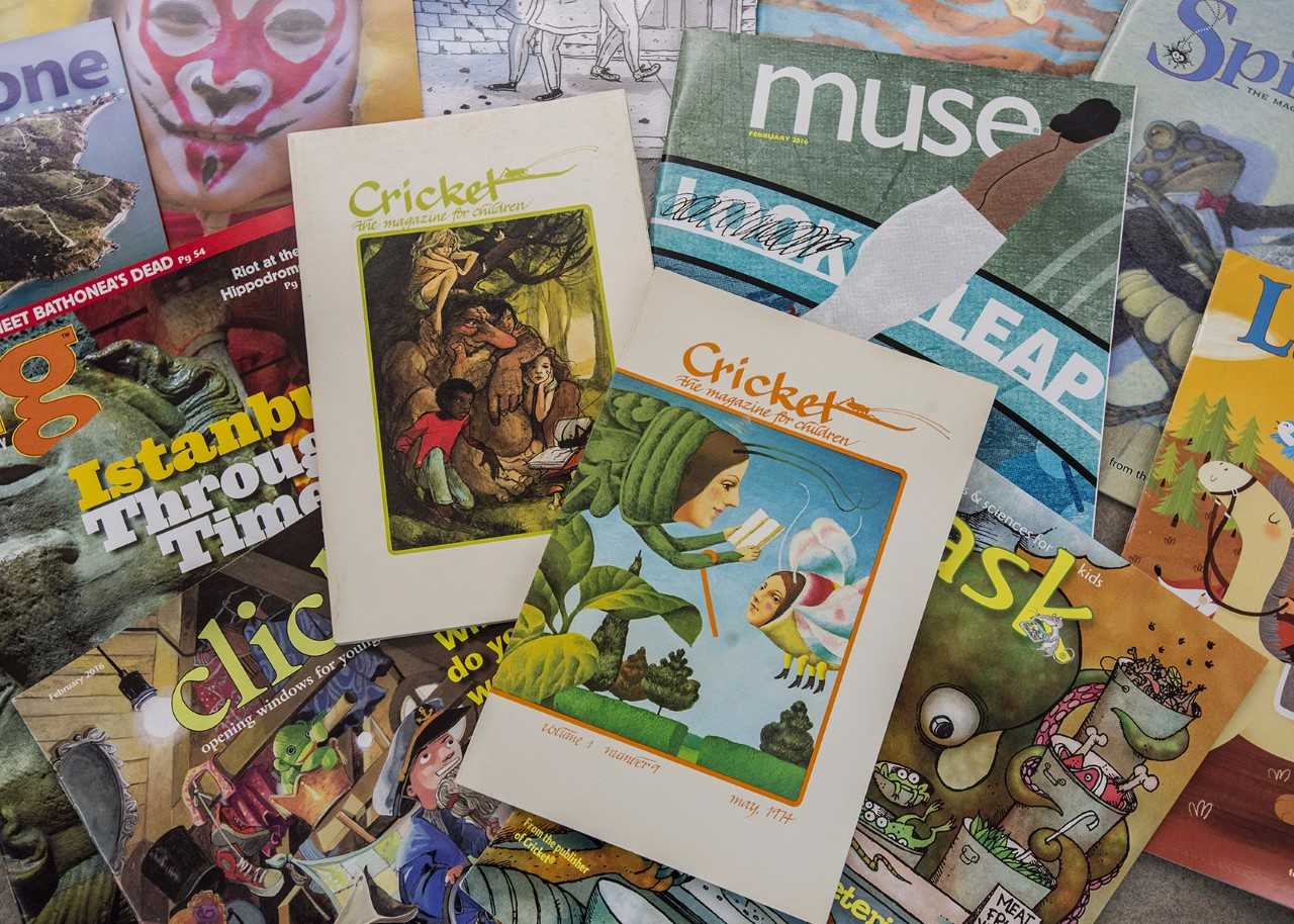 Morris Library receives \u0027Cricket\u0027 children\u0027s literary magazine records
