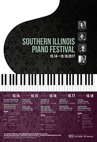 Southern Illinois Piano Festival flyer