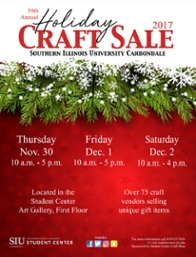 Craft sale flier