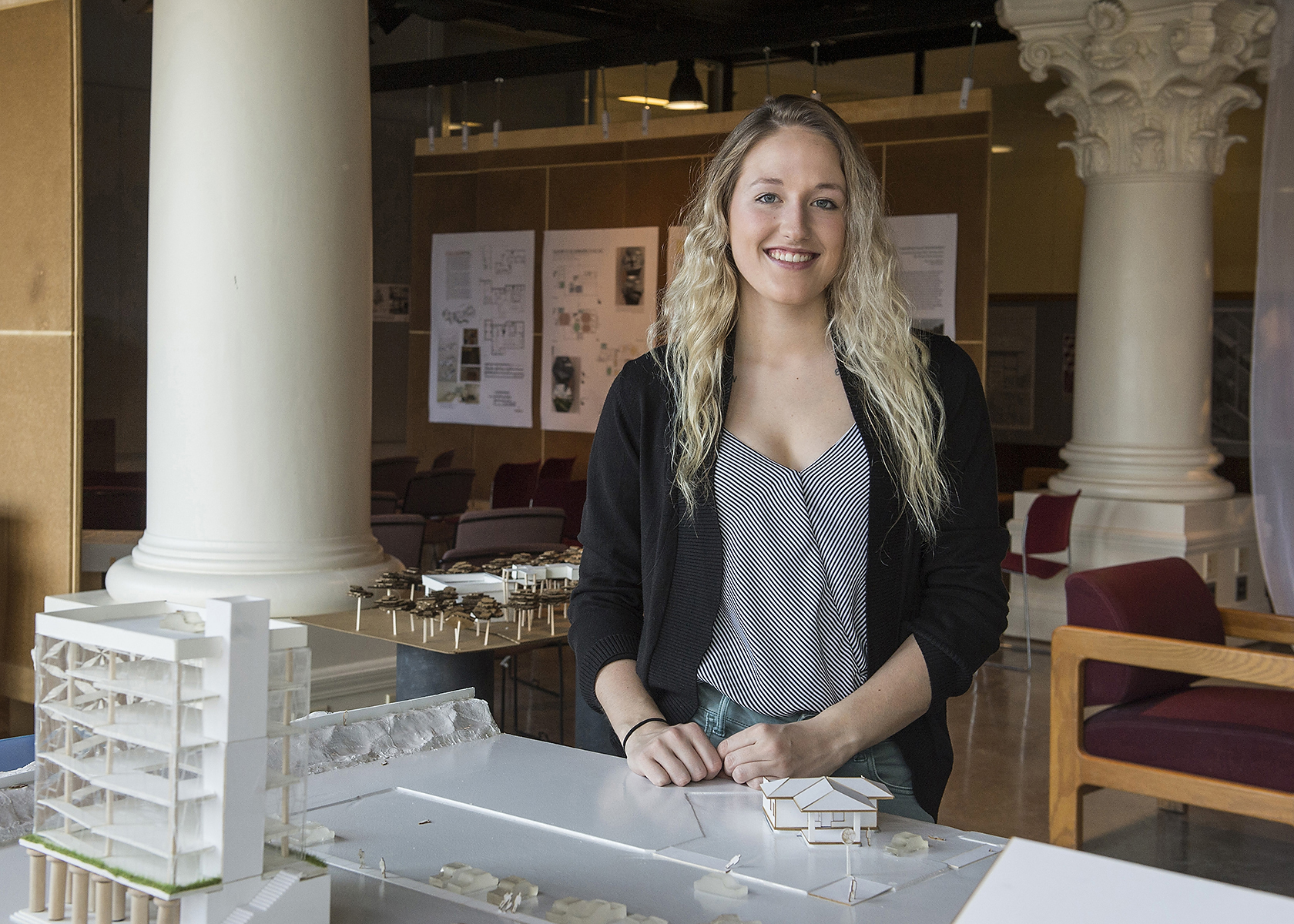 Caitlyn Cathcart Wins Prestigious Student Interior Design Competition