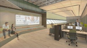 east open office design