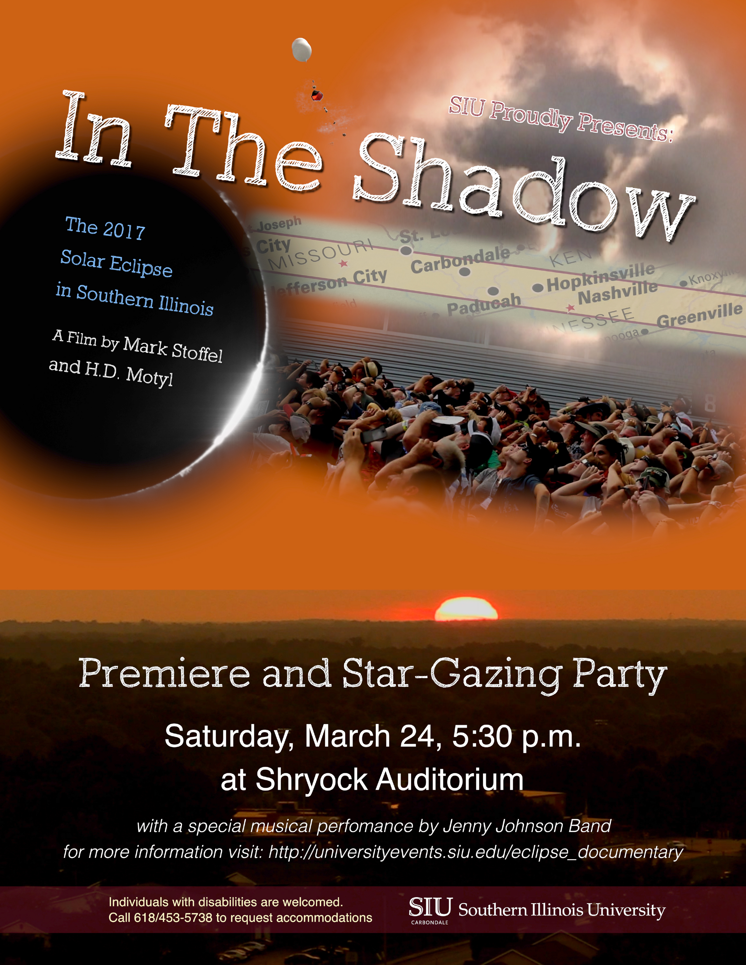 In the Shadow eclipse documentary premier and star gazing party