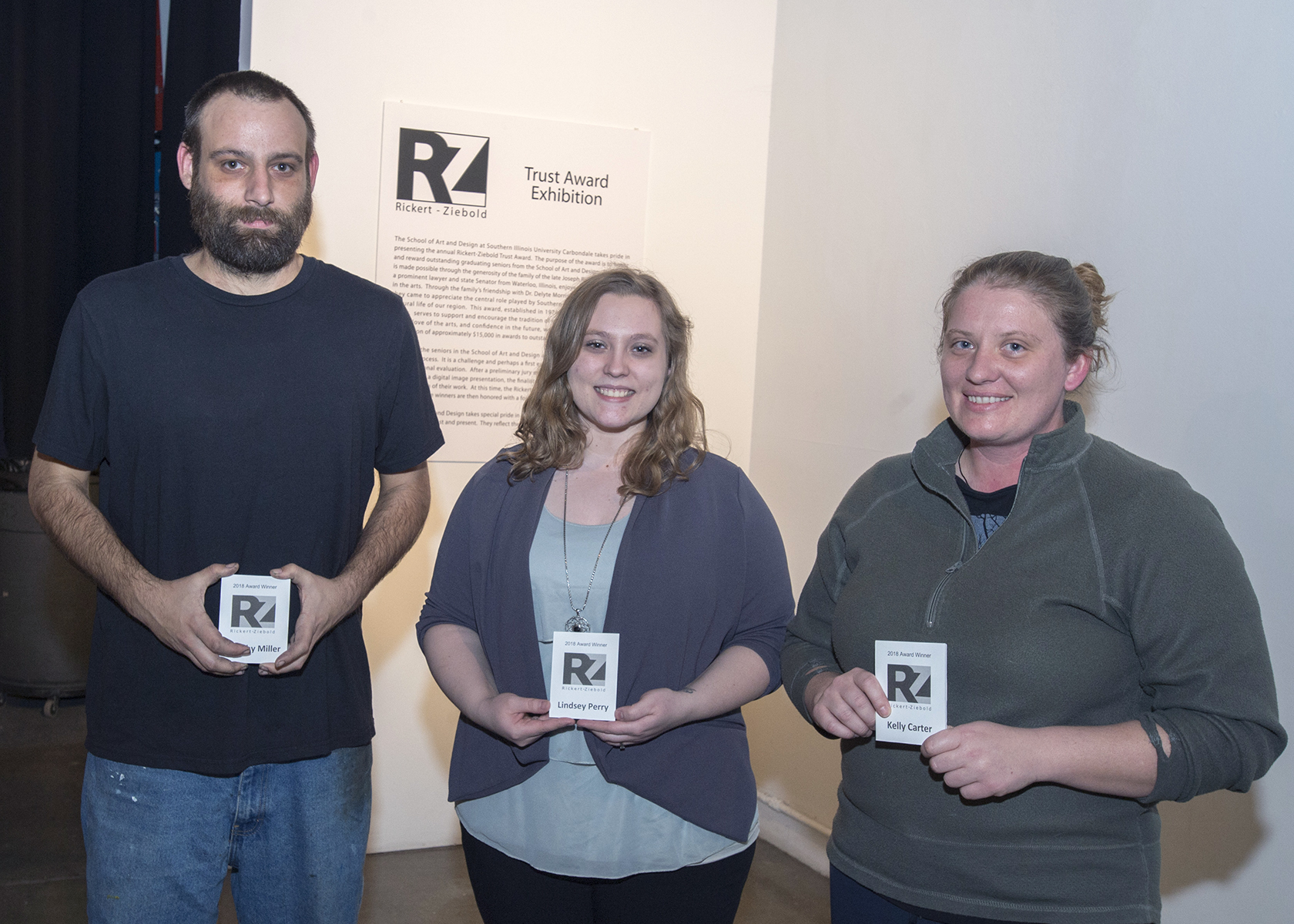 2018 Rickert-Ziebold Award winners