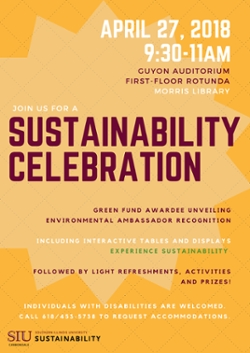 Sustainability Day flier