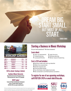 Biz workshop flyer