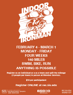 Indoor Ironman flier