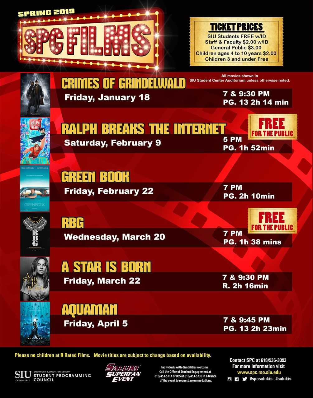 See today's new releases at SIU for free or very low prices