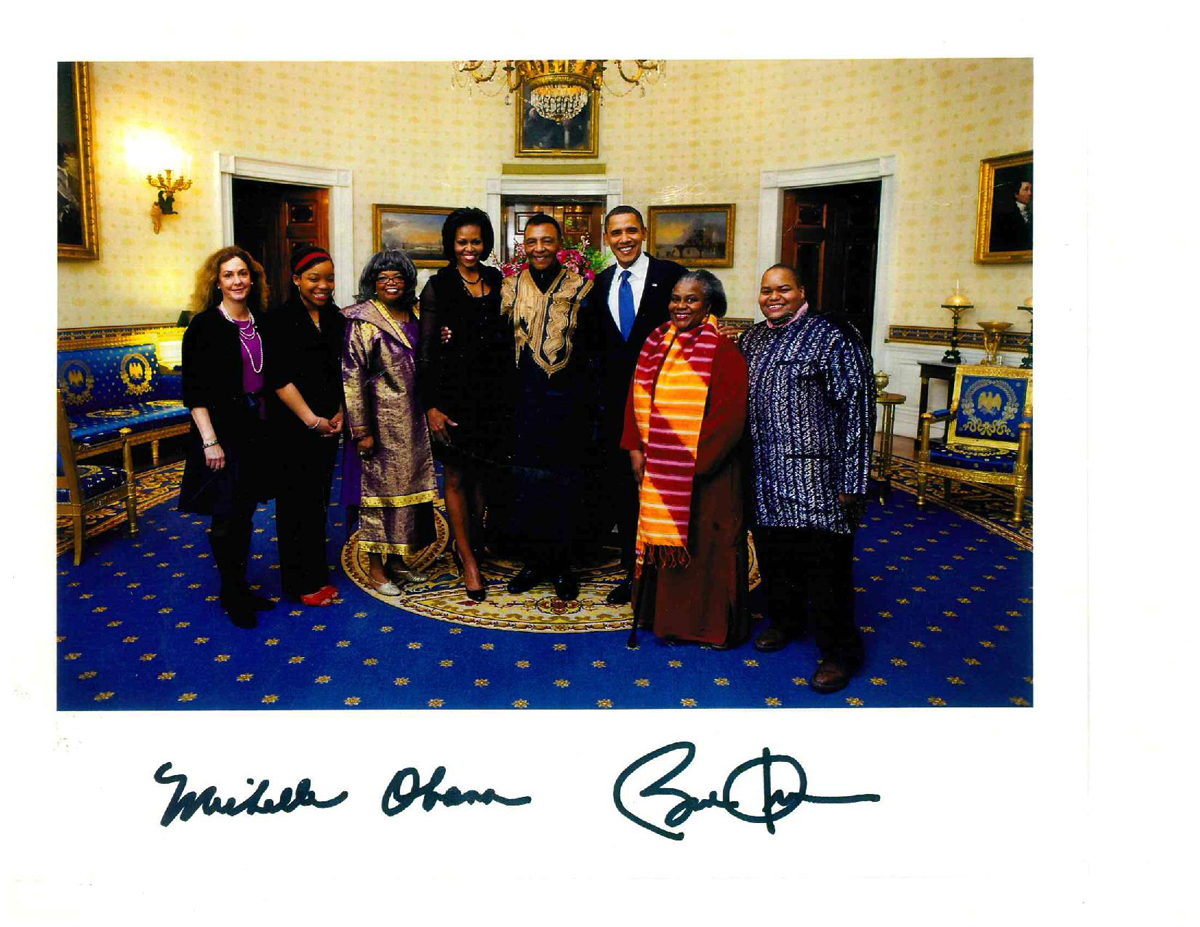 Neblett at the White House