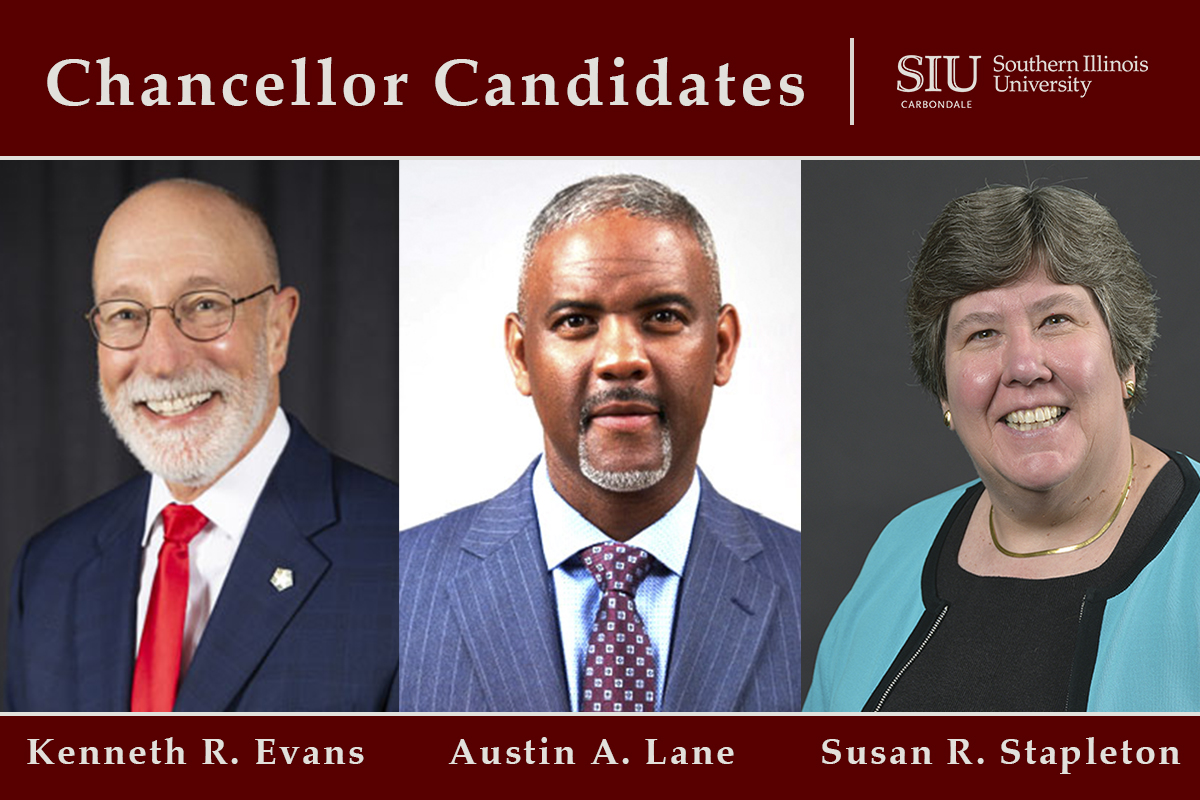 Siu Carbondale Christmas Break 2020 SIU Carbondale to conduct virtual interviews with three finalists